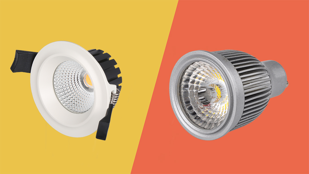 difference between downlight and spotlight