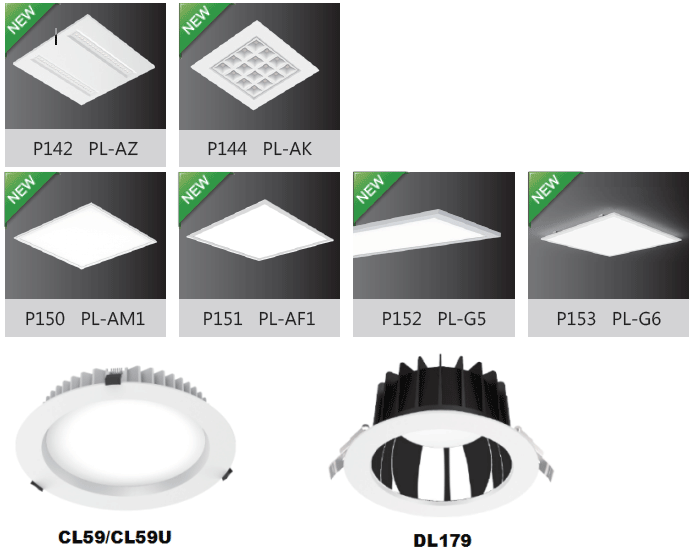human centric lighting products