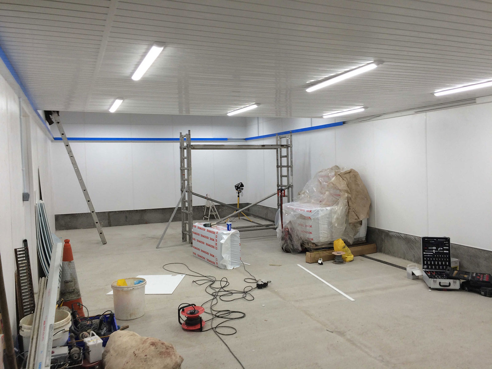 Frozen Food Processing Plant Lighting In UK