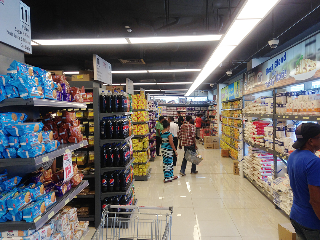 Grocery Store LED Lighting In Fiji