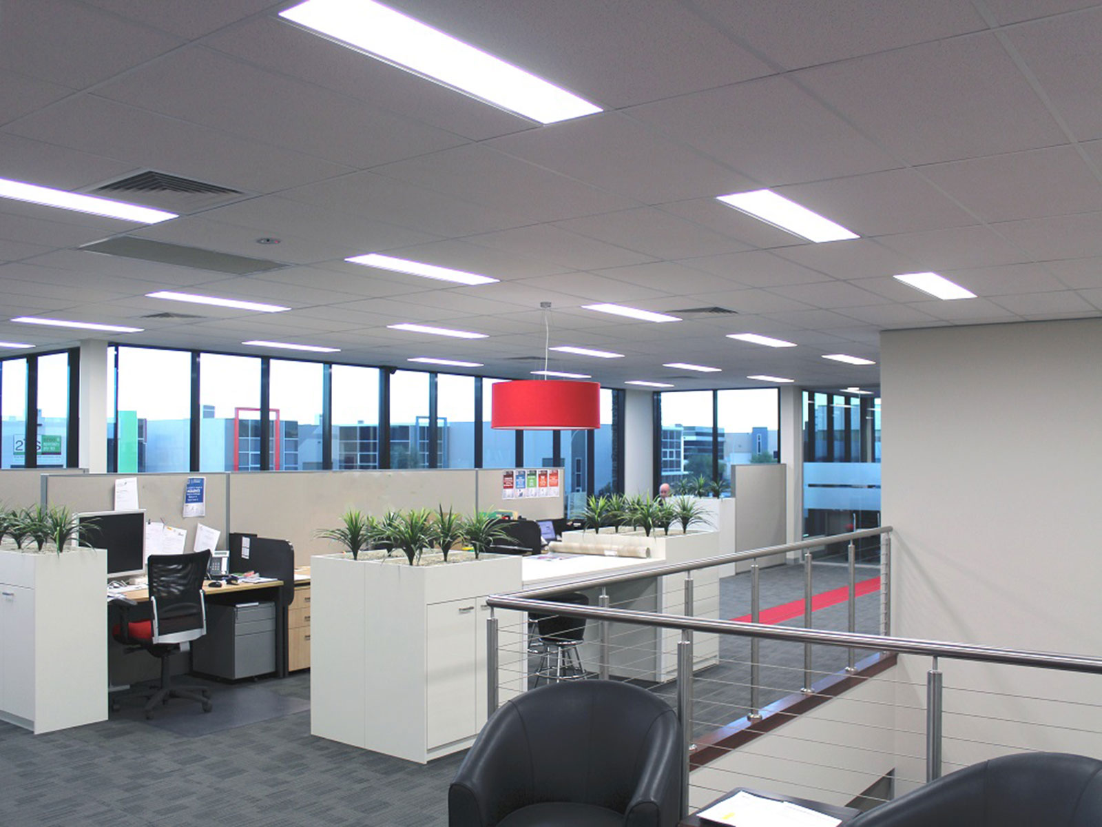 Office Room Lighting In AU