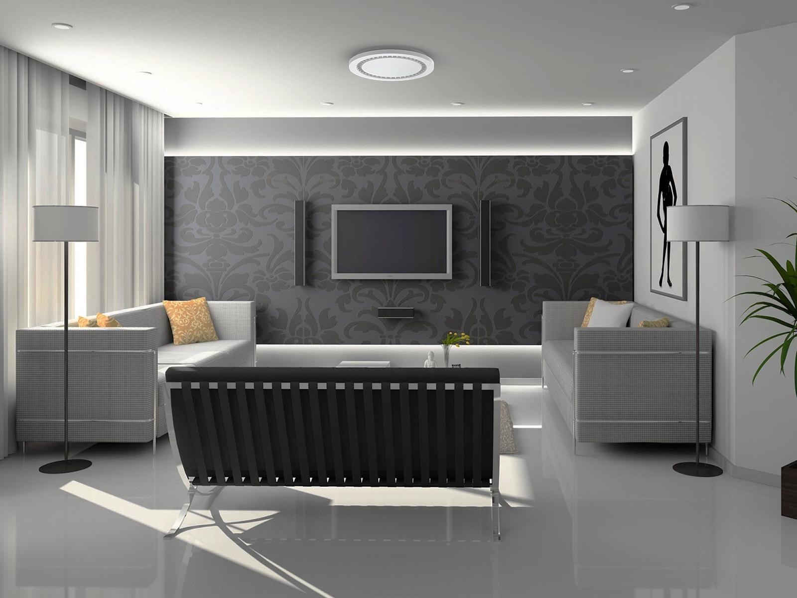16 Inch 25w Indoor Motion Sensor Ceiling Light Fixture Upshine Lighting