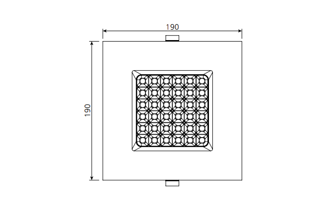 Six Inch Led Recessed Downlights