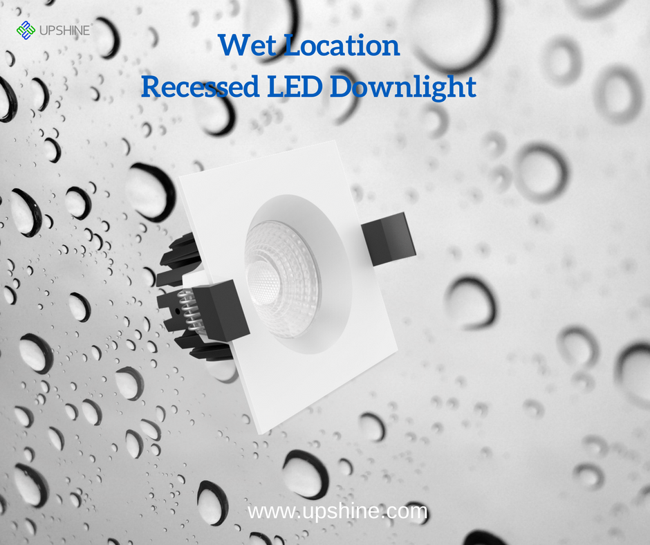 Wet Location Recessed LED Downlight