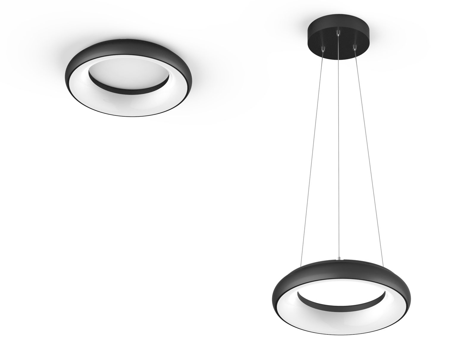 AL24 2 Surface Mounted LED Ceiling Light