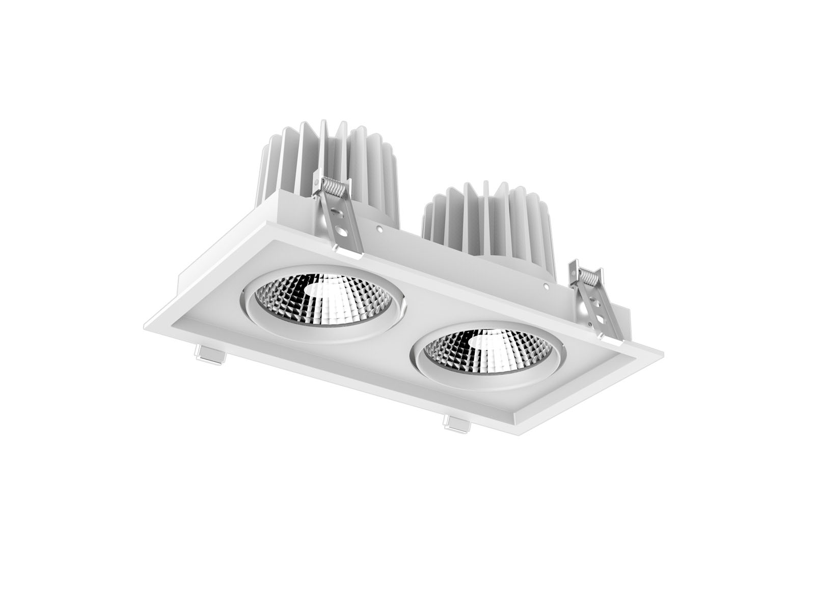 310X160mm CL67 2 Recessed Led Downlight
