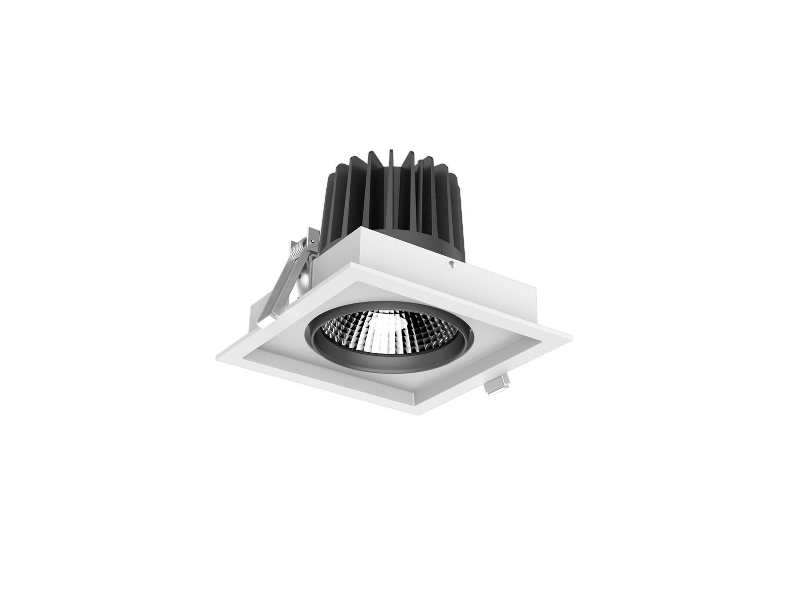 Aluminium CL67 3 Led Down Light