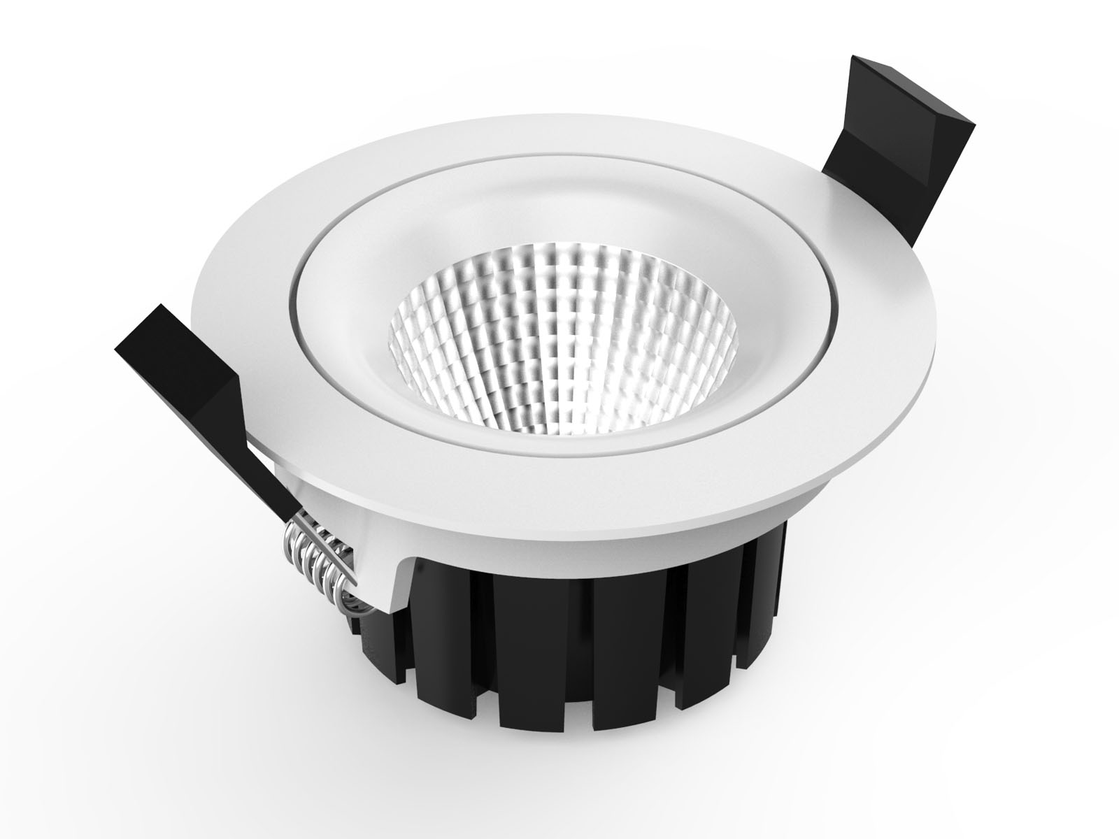 CL76 2 led downlight dimming