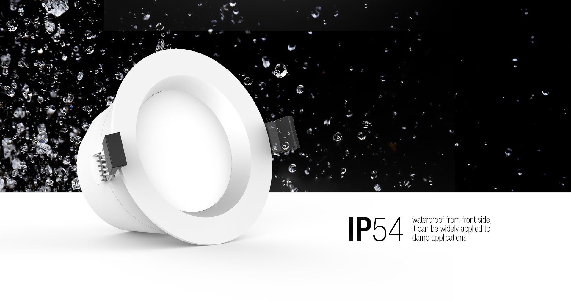 LED Down Light With Waterproof Function_03