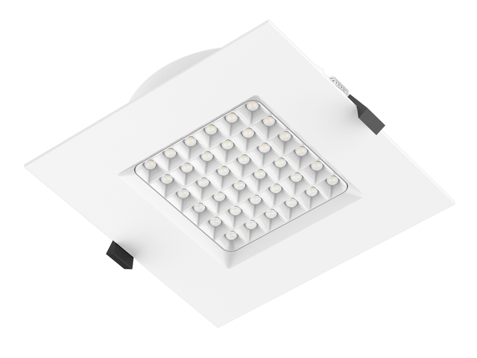 DL105 1 LED Rectangular Downlights