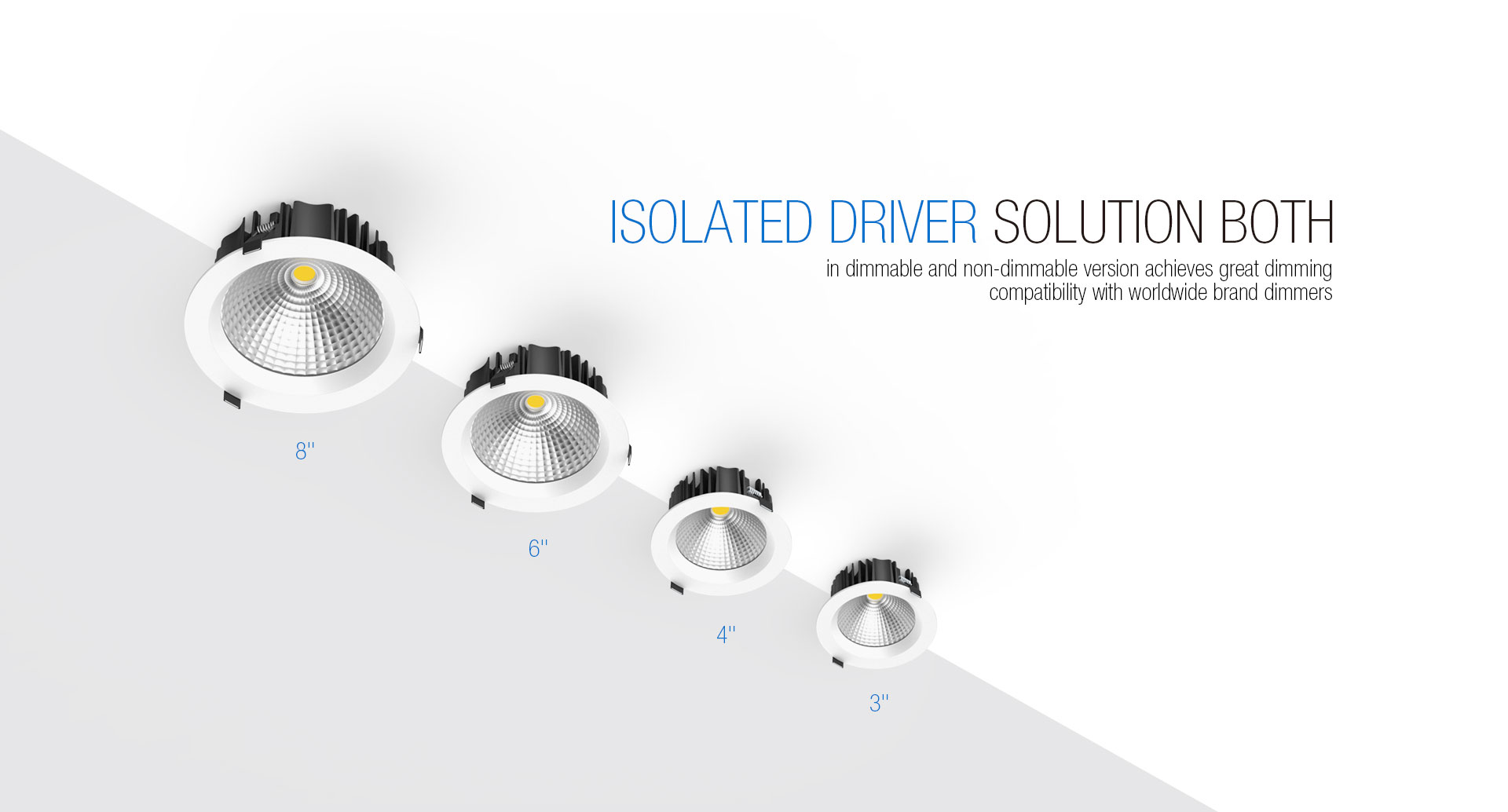 Isolated Driver LED Downlight Illumination_04