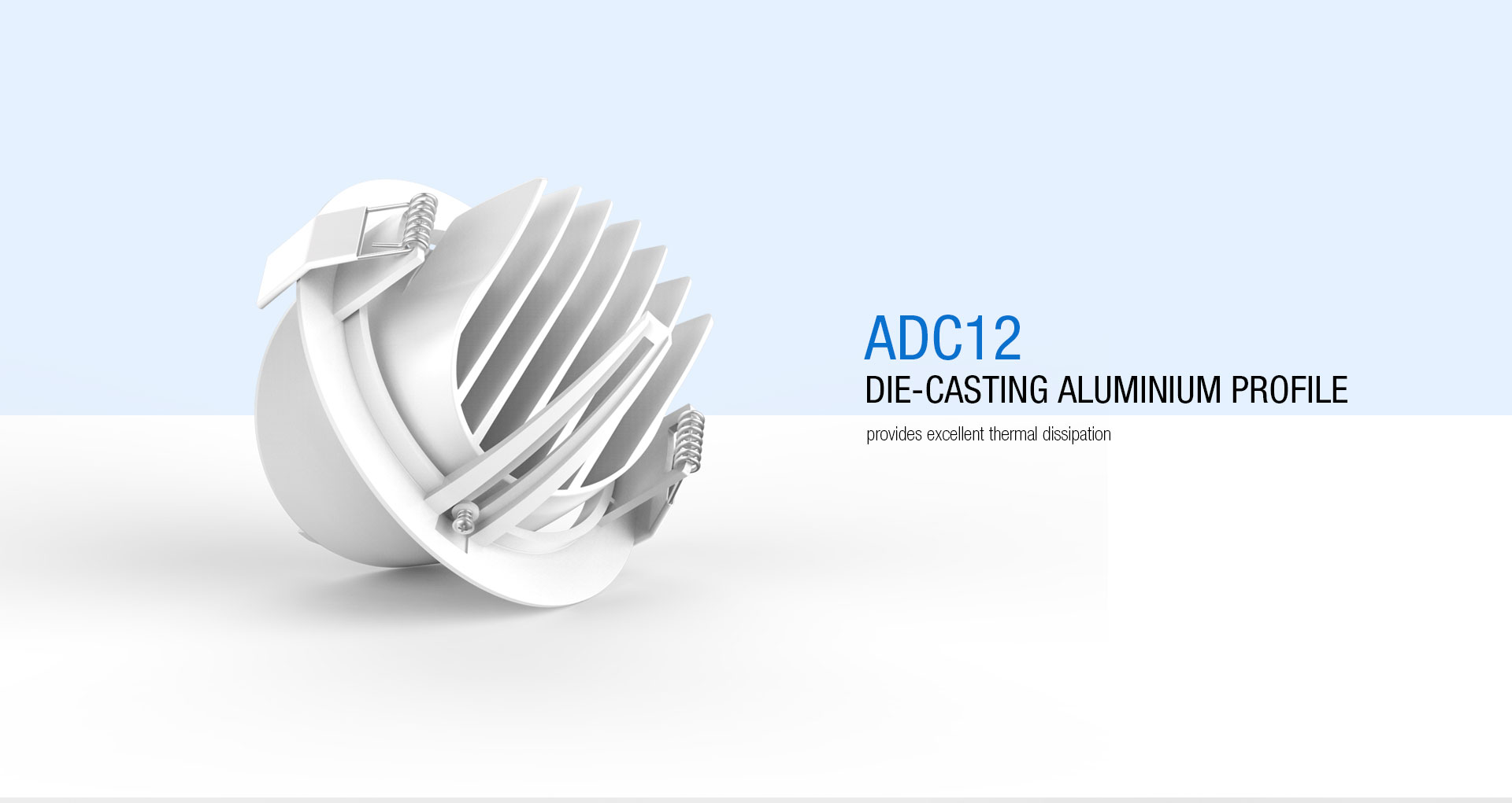 Dl31 Adjustable Cob Led Downlight Upshine Lighting