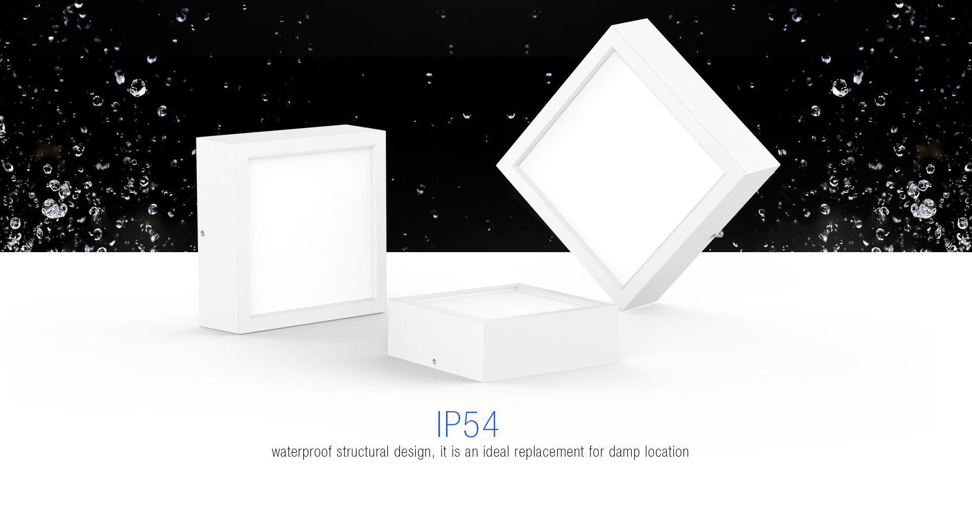 IP54 Water Resistant LED Downlights_03