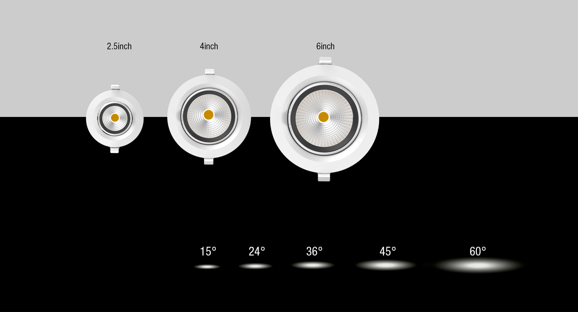 2.5Inch 3Inch 6Inch LED Down Light_04