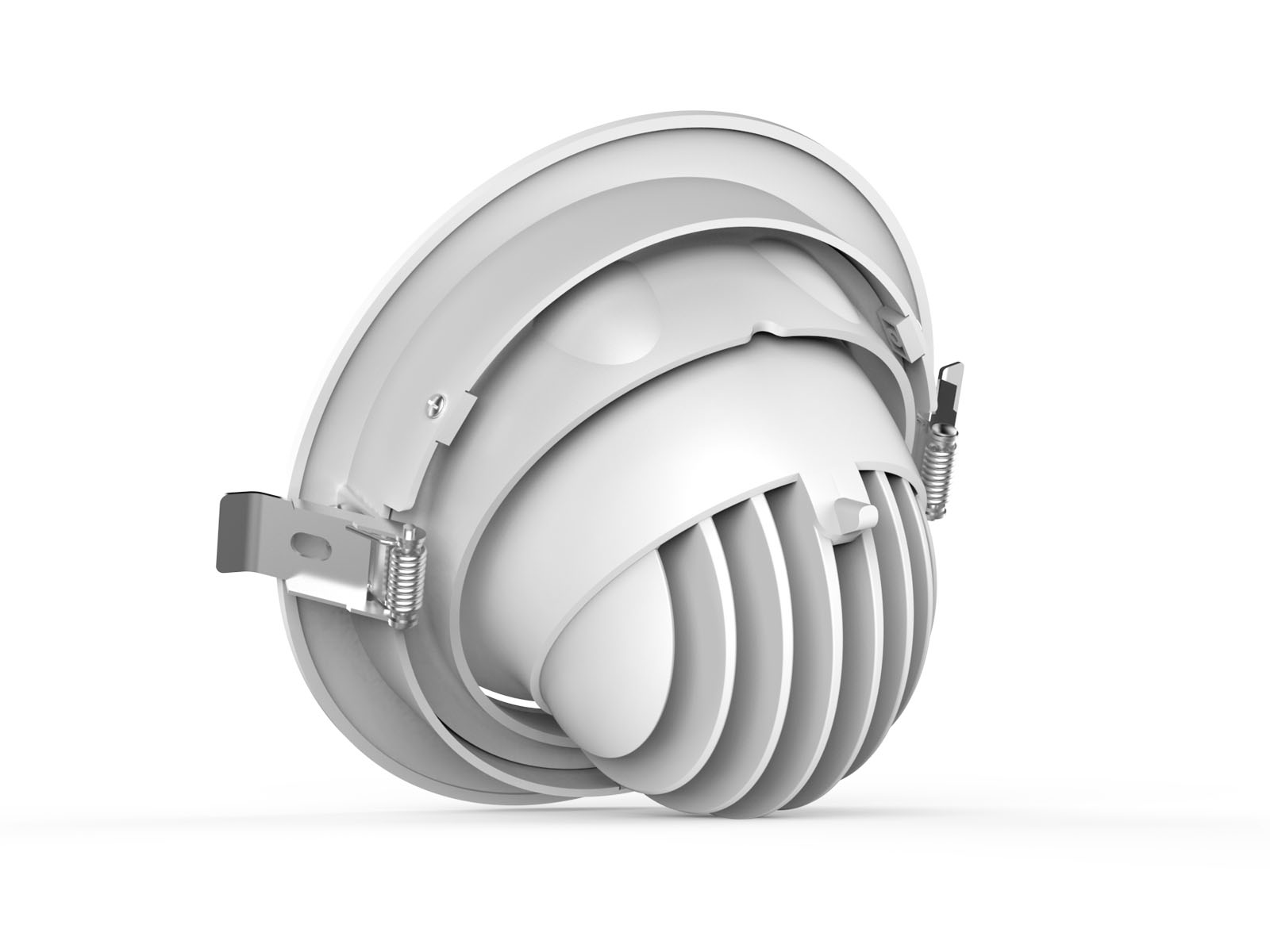 DL77 3 retrofit commercial led downlight
