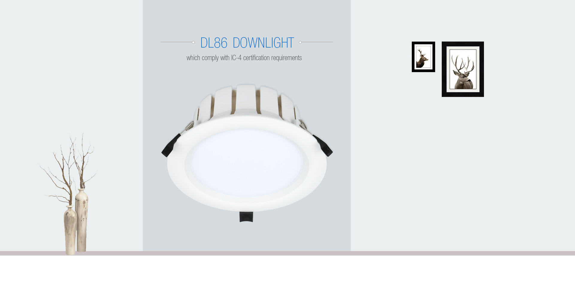 DL86 IC 4 Rated LED Recessed Lighting_01