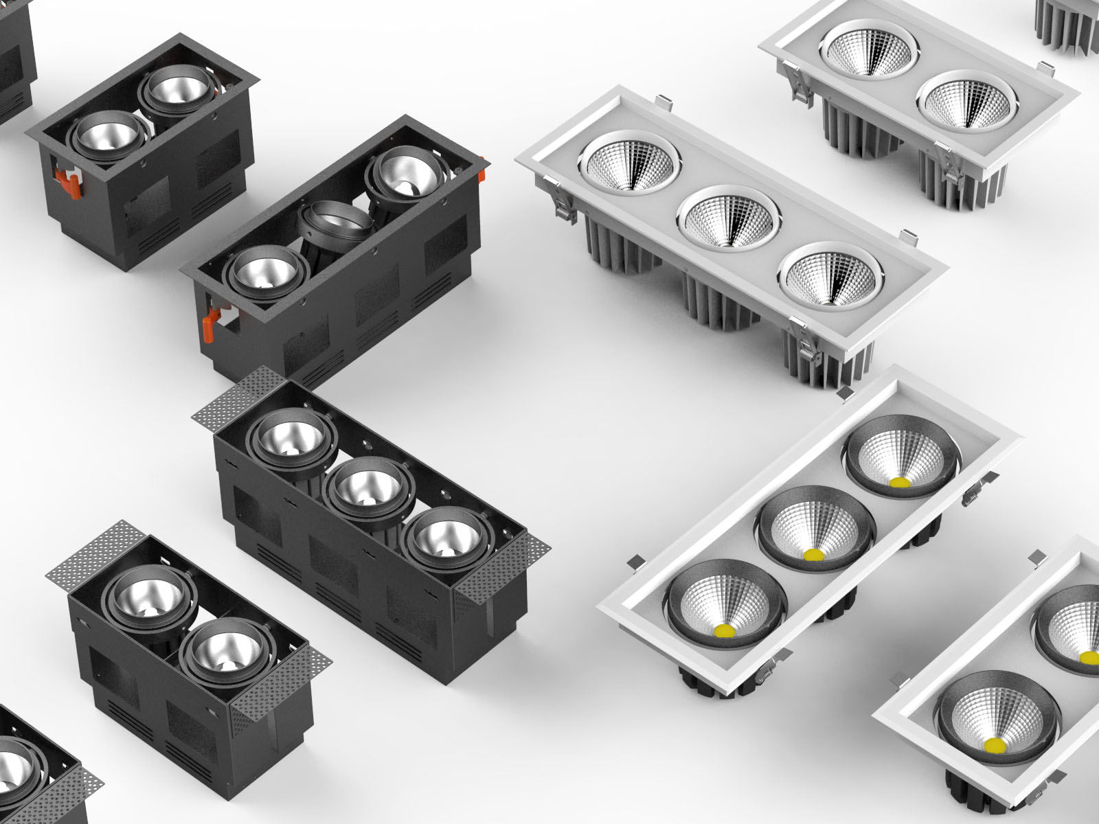 High Efficiency LED Downlight_3