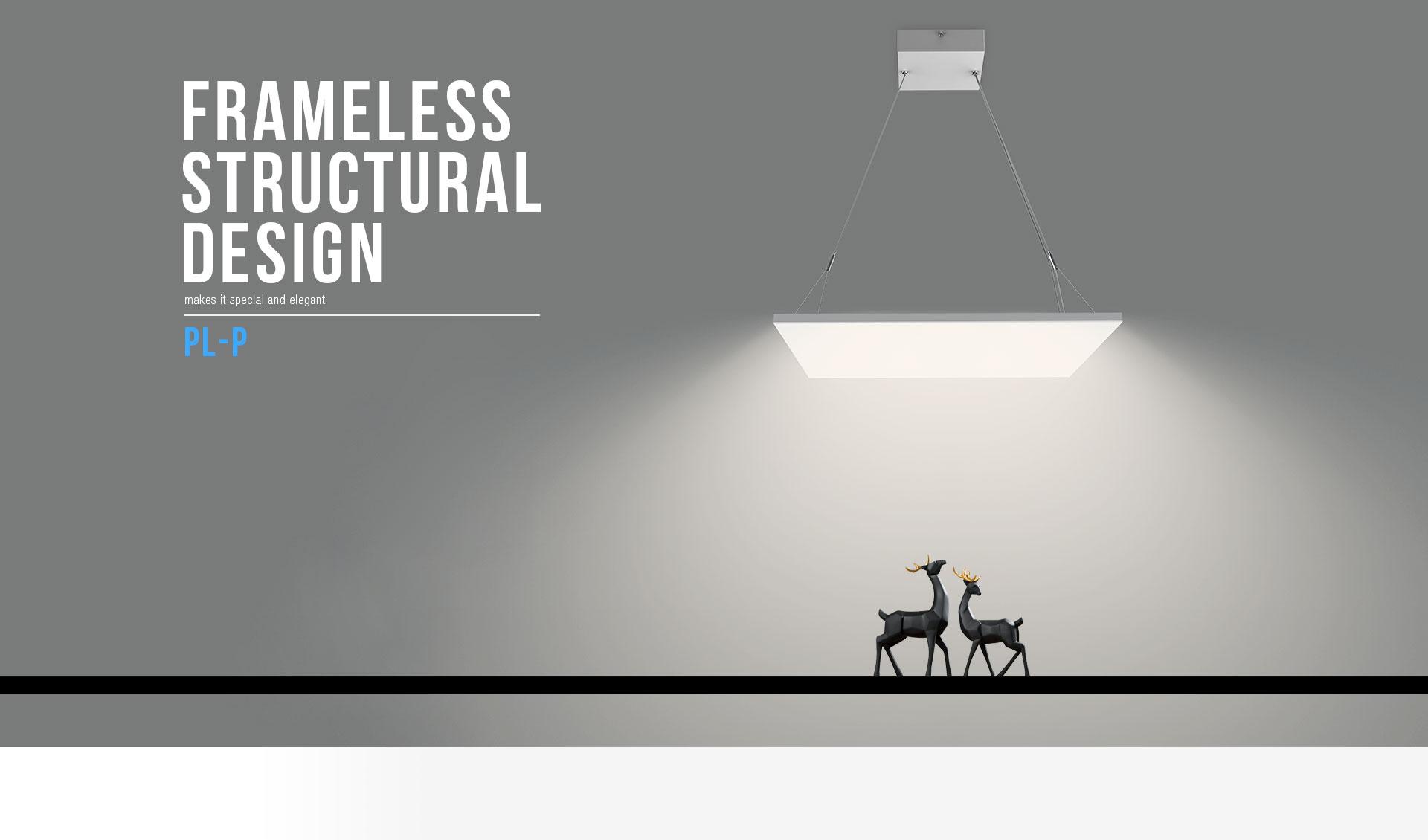 Frameless Led Panel Light Upshine Lighting