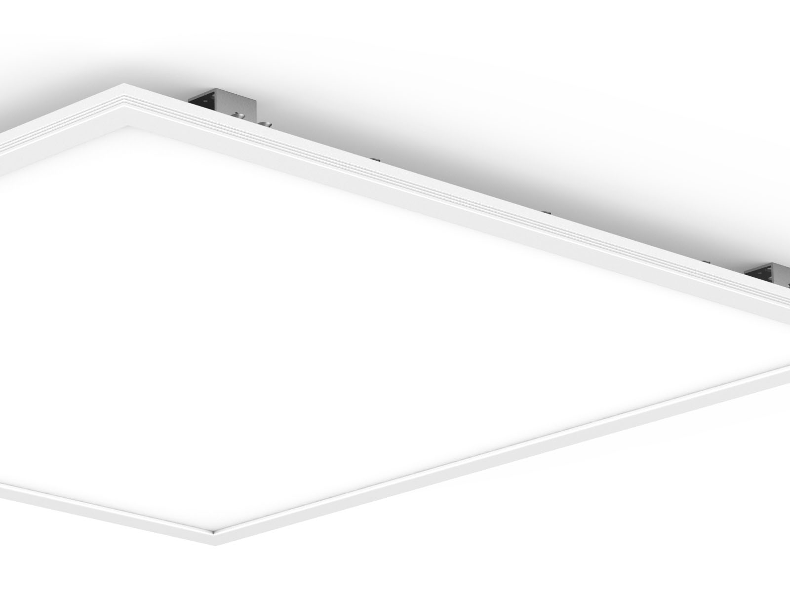 Tuv led flat panel lights upshine lighting suspended pl3030 2 led panel lights dailygadgetfo Choice Image