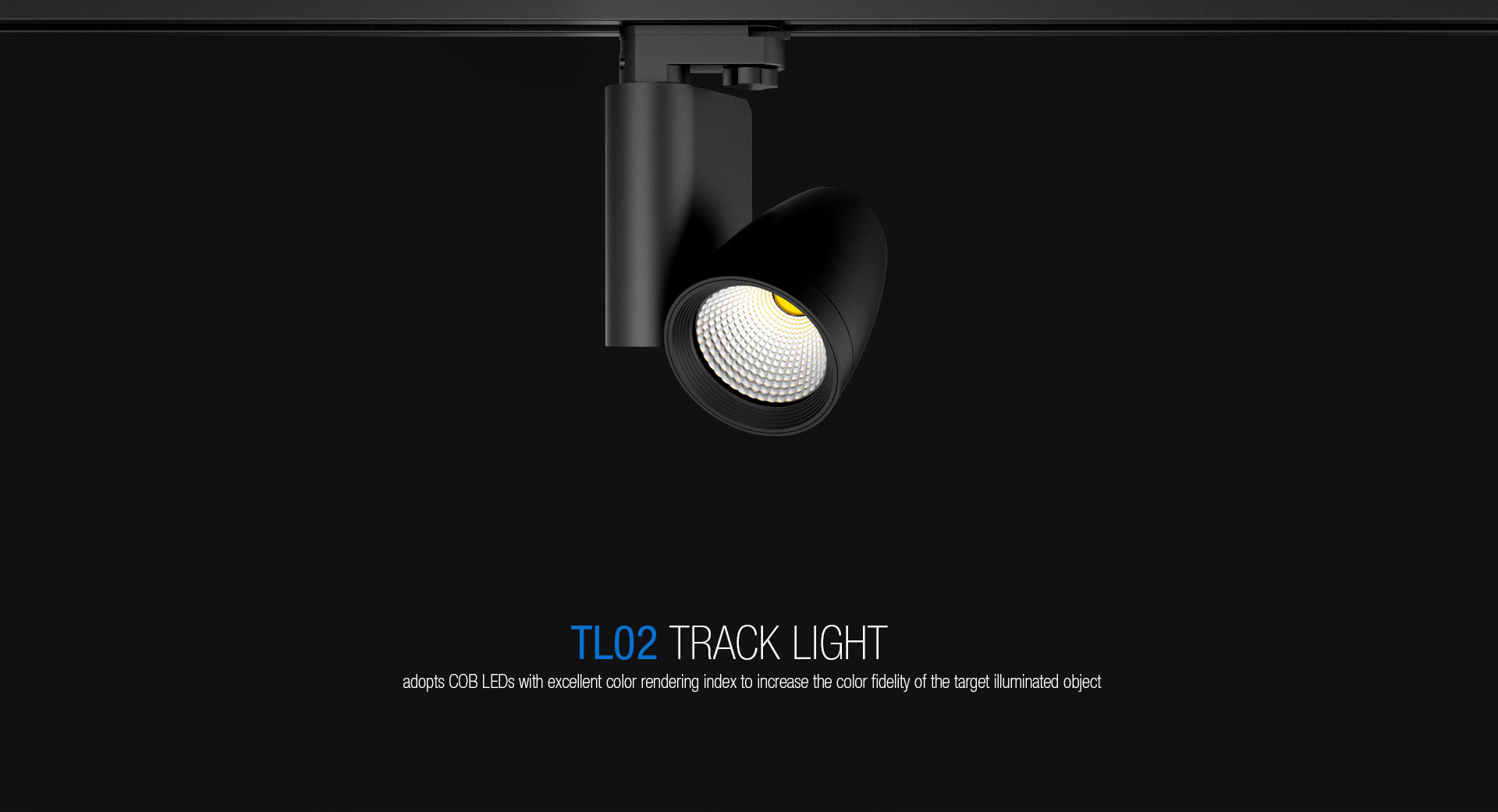 TL02 Commercial COB LED Track Lighting_01