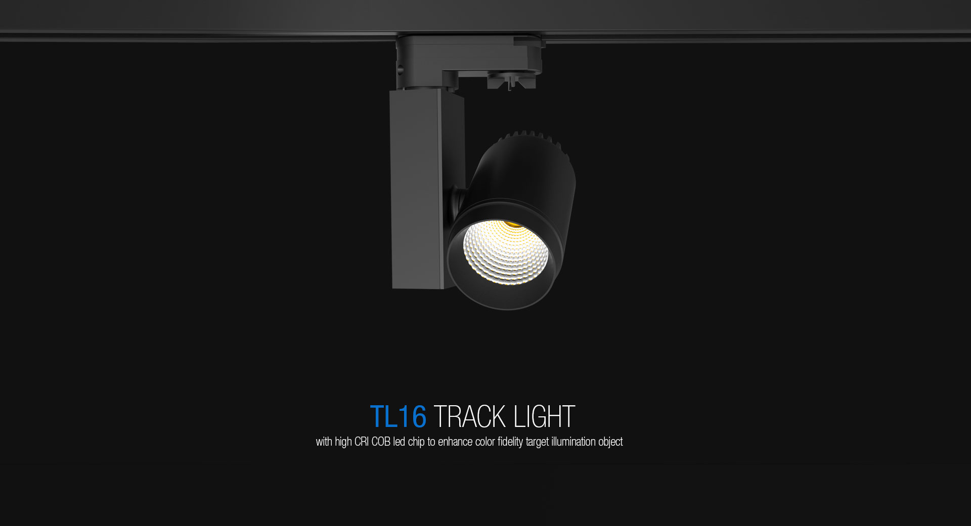 Tl16 mini led track light upshine lighting tl16 commercial 12w led track light01 mozeypictures Image collections