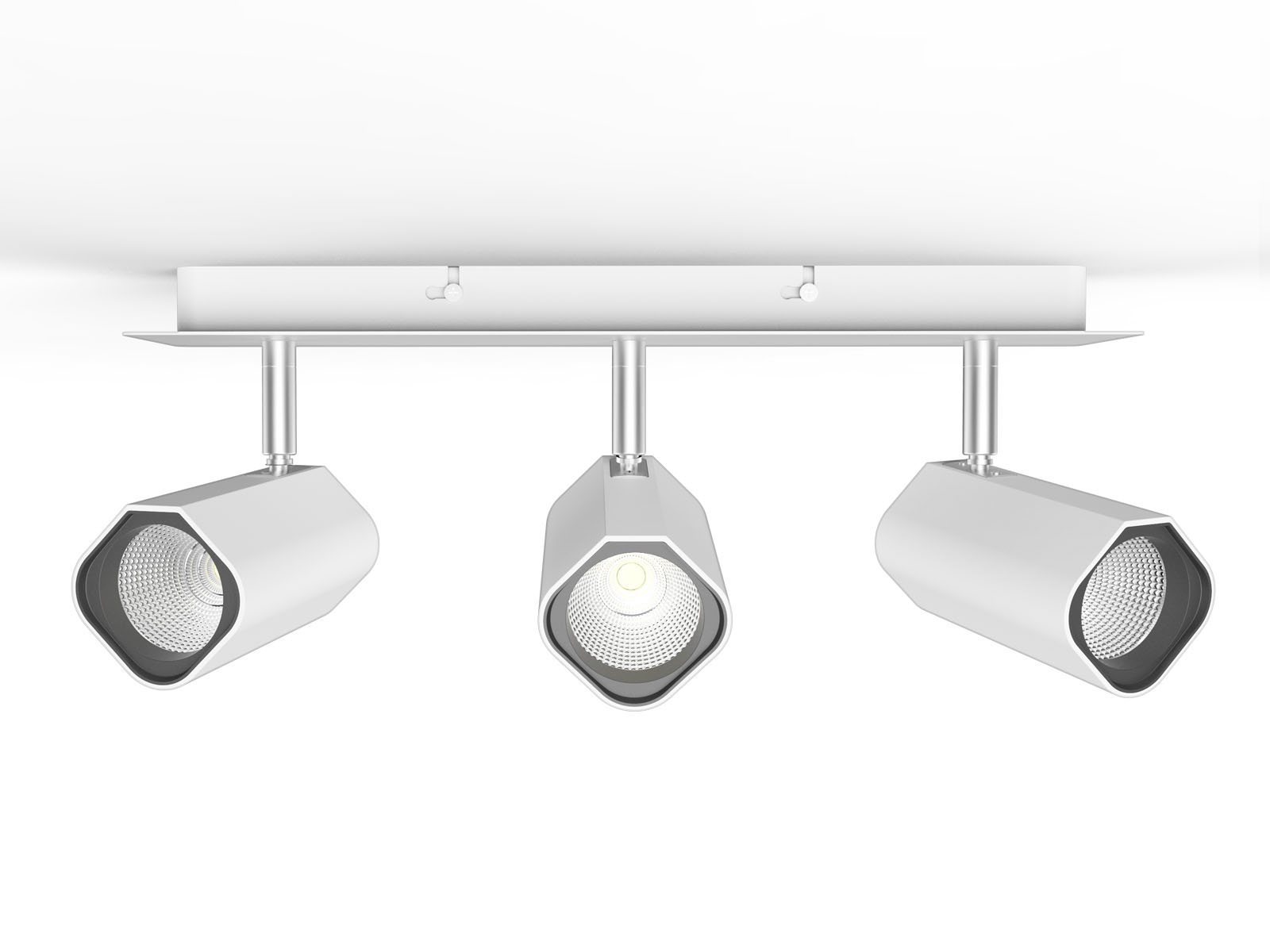 20W TL21 2 Surface Mounted LED Track Light