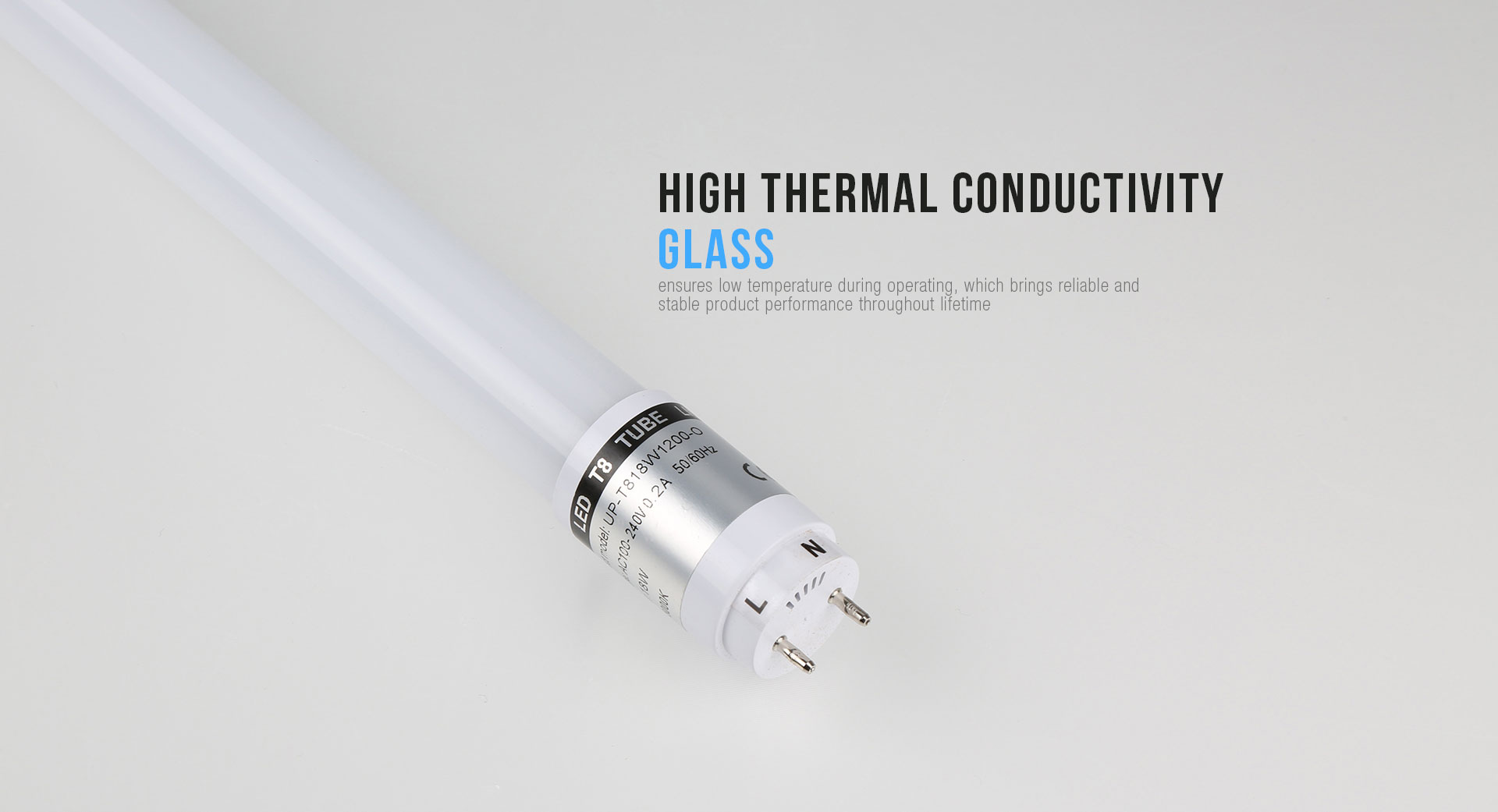 High Thermal T8 Tube Light_03