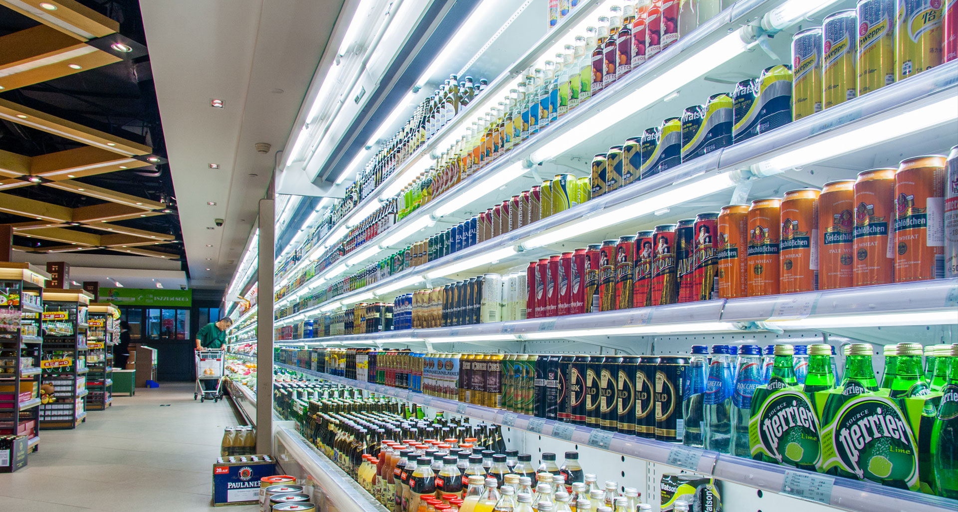 Supermarket Glass LED Tube Lighting_04