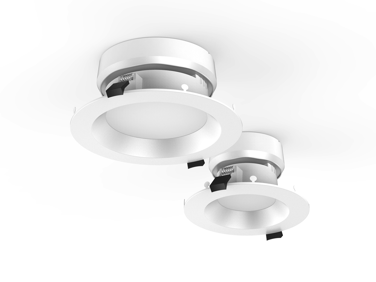 DL108 2 115mm Cutout LED Downlights