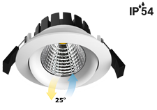 adjustable cob mini led downlights