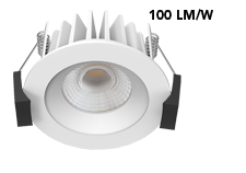 dimmable cob mini led downlight