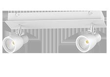 multi head recessed track light