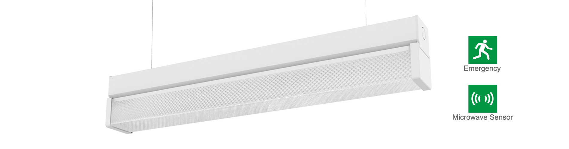 T8 diffused led batten