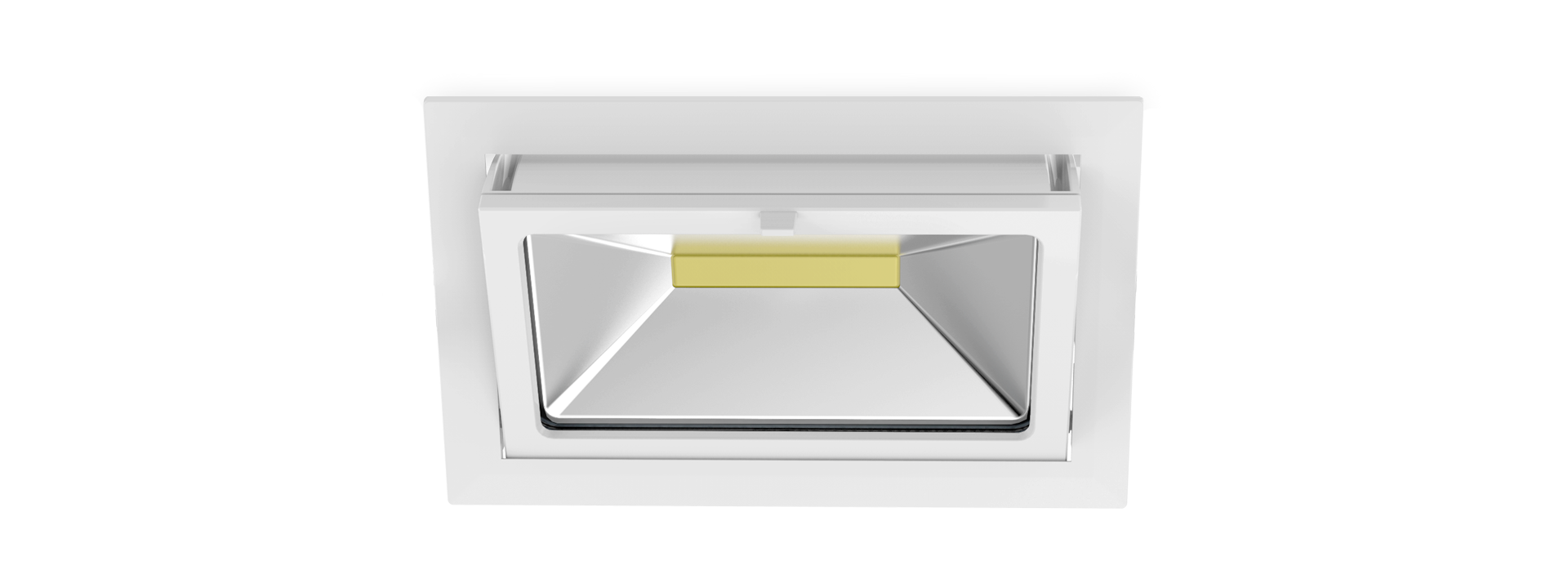 rectangular ip65 cob led downlight