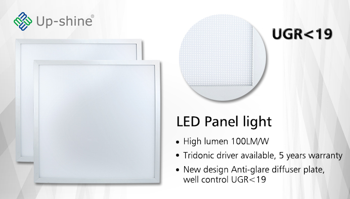 100LM/W UGR<19 LED Panel Light - UPSHINE Lighting