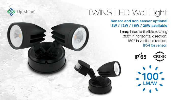 WL01 Twins LED Wall Light