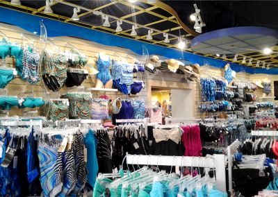 Bikini Retail Shop Lighting in Hawaii