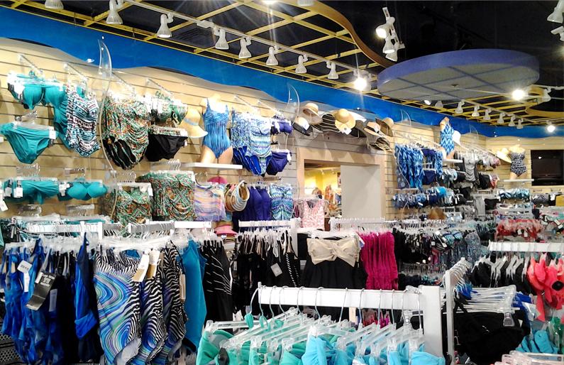 Bikini Retail Shop Lighting