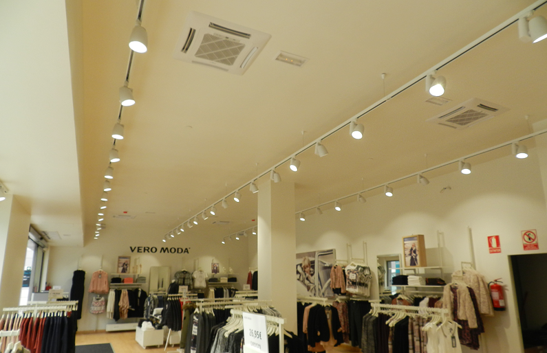 Vero Moda Retail Shop Lighting In Spain