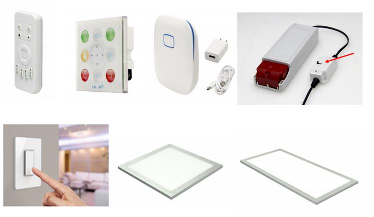 wireless wifi controlled lights