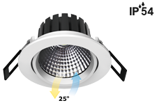 IP54 adjustable cob mini led downlight