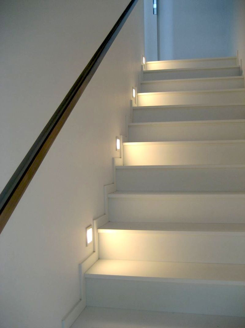 lighting stairs. Led Step Light \u0026 Stair Lighting Stairs