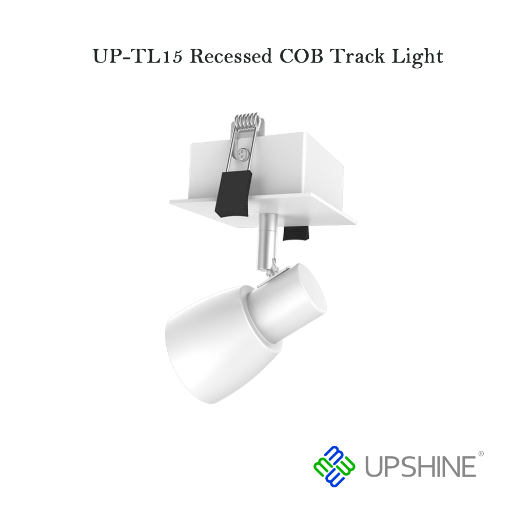 Introducing three upshine commercial led track light upshine lighting up tl15 recessed cob track light mozeypictures Image collections