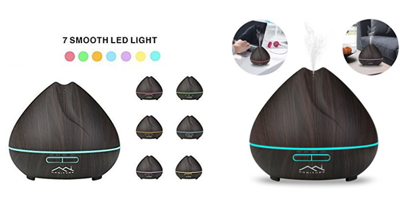 Honiture Essential Oil Diffuser With LED Light