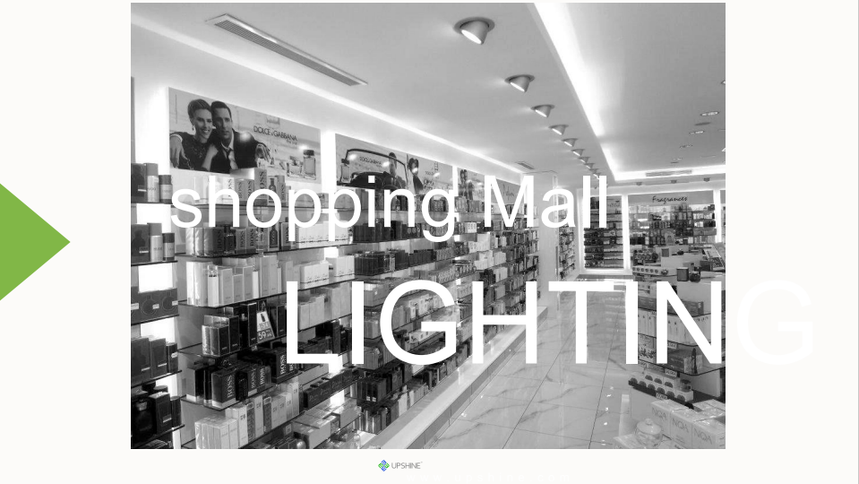 Shopping mall LED lighting