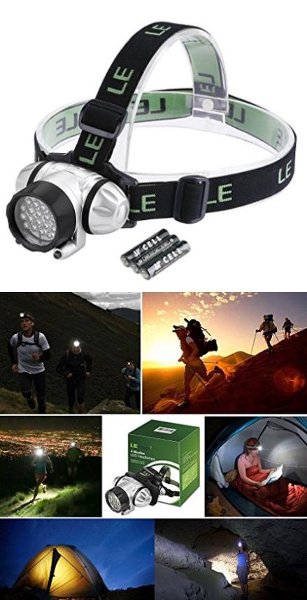 Waterproof LE LED Headlamp