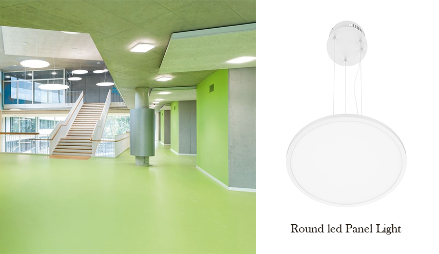 Round Pendant LED Panel Light